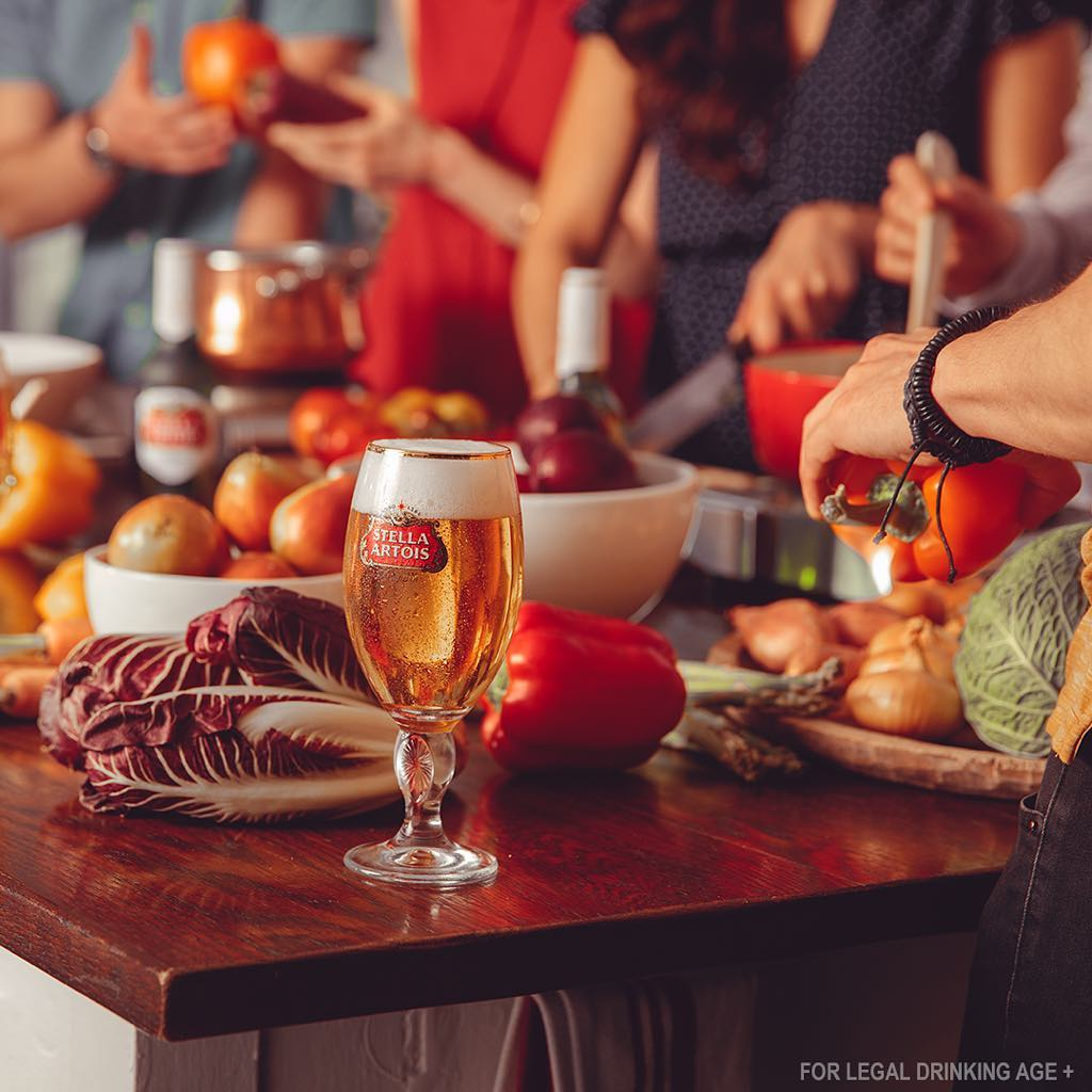 Stella Artois Cooking with Friends