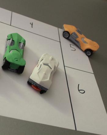 Car Parking Game. Educational Activities for Preschoolers.