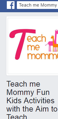 Teach Me Mommy Fun Kids Activities With the Aim to Teach
