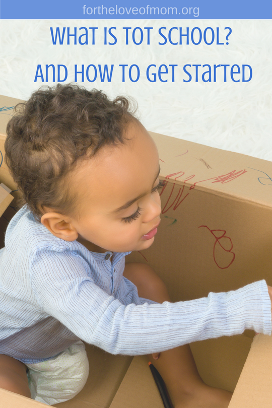 What is Tot School How to Start Tot School | Why Toddler Moms Need Tot School | Homeschooling Toddlers | #momlife | #toddlers | #learnthroughplay | www.fortheloveofmom.org