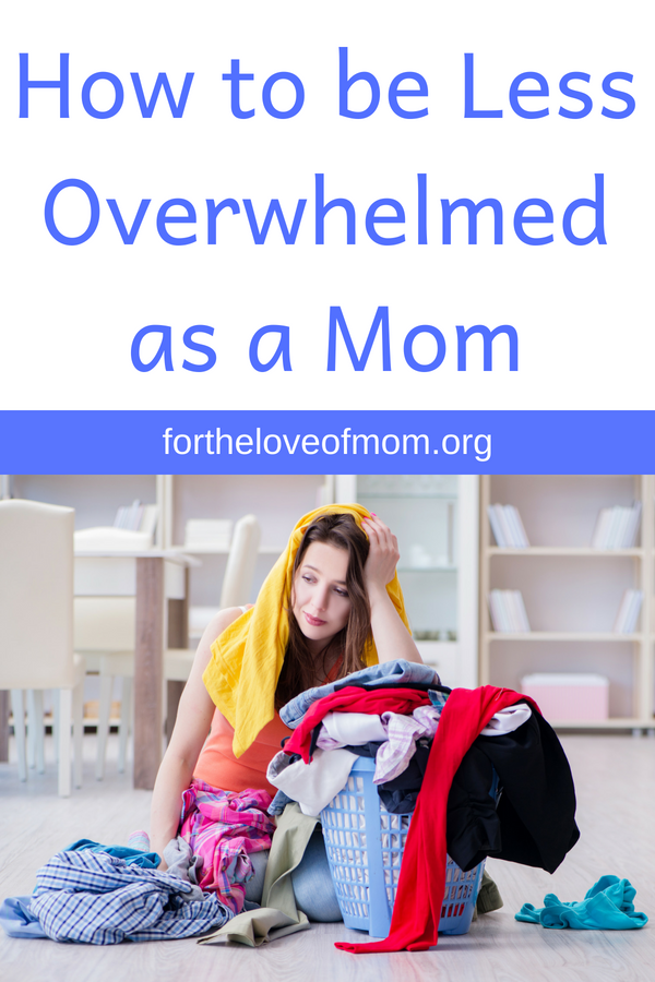Here are a few things I've learned to do to help ease and prevent the overwhelming feelings of motherhood! #momlife #anxiety #stress - fortheloveofmom.org