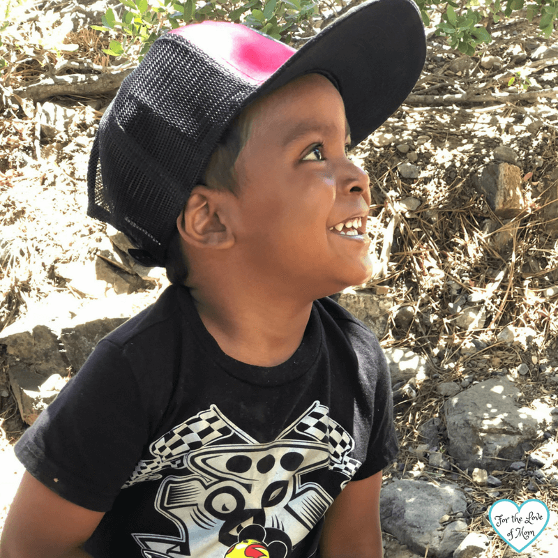 Toddler Approved Waterfall in South Lake Tahoe - fortheloveofmom.org