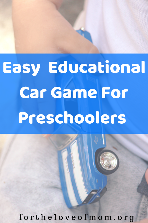 Easy To Do Educational Game For Preschoolers - #toddlers #preschoolers #homeschooling #numberrecognition - For the Love of Mom Blog - fortheloveofmom.org
