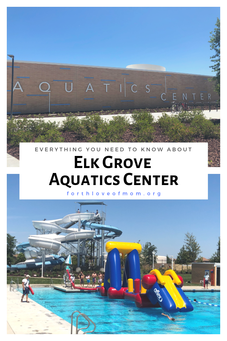 Everything you need to know about the Elk Grove Aquatics Center in Elk Grove, California. Find out more about this fun summer activity for the whole family! - For the Love of Mom Blog - fortheloveofmom.org