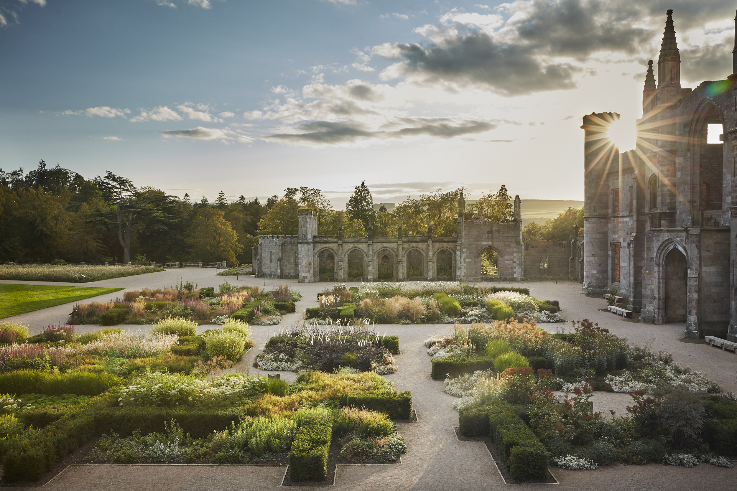 Lowther Castle Tapestry Garden