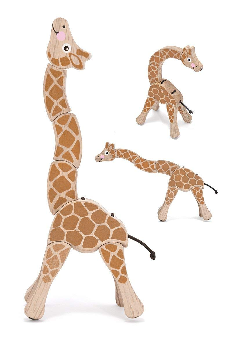 wooden baby toy melissa and doug giraffe