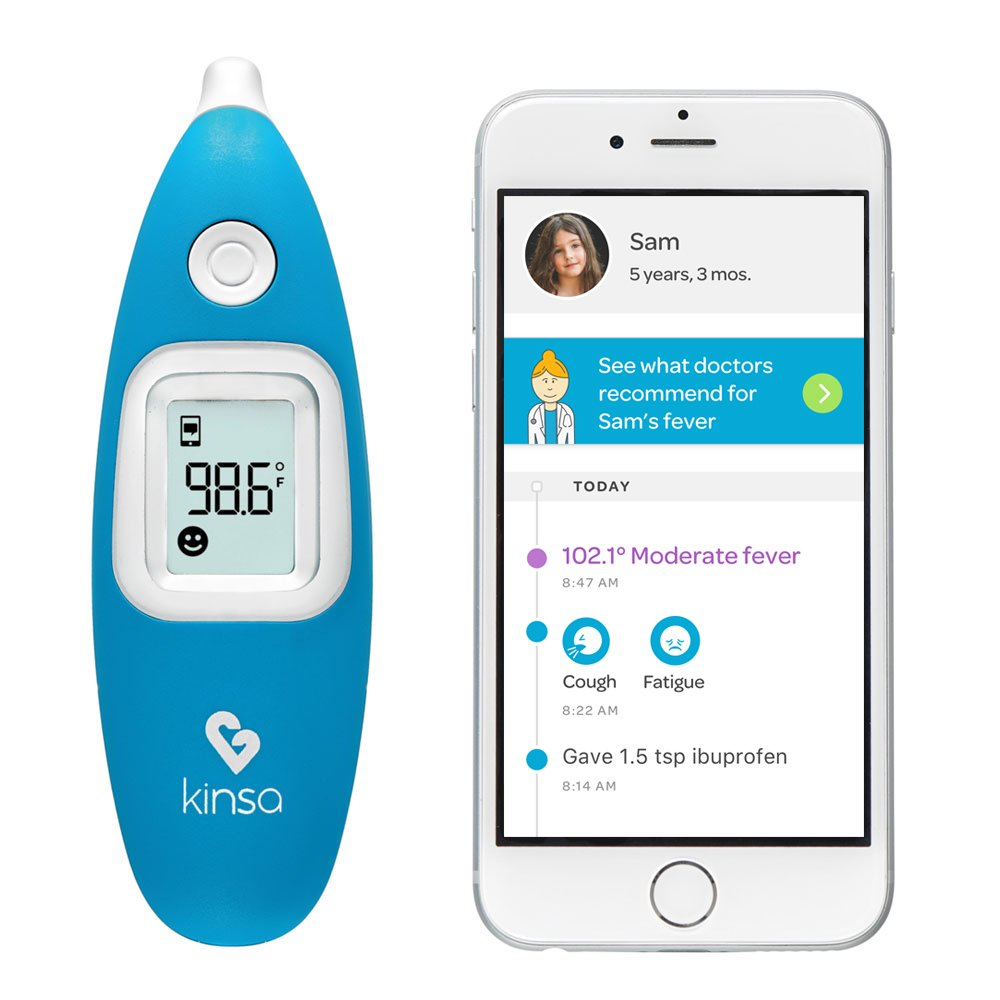 kinsa smart ear thermometer review