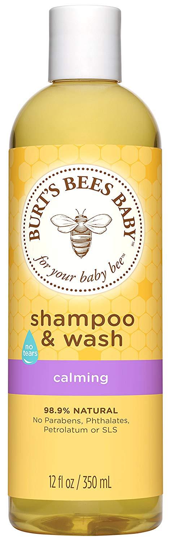 burts bees baby wash review