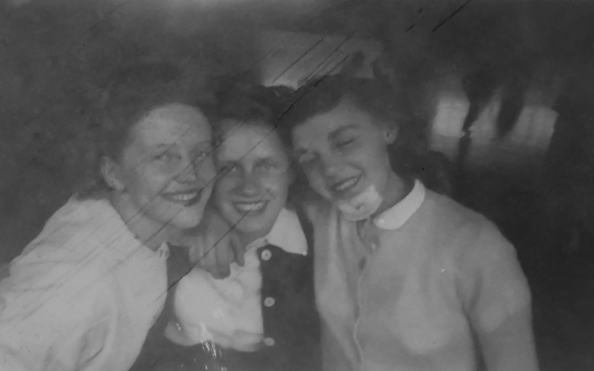 "From an album titled ""Friends"". My grandma is in the middle."