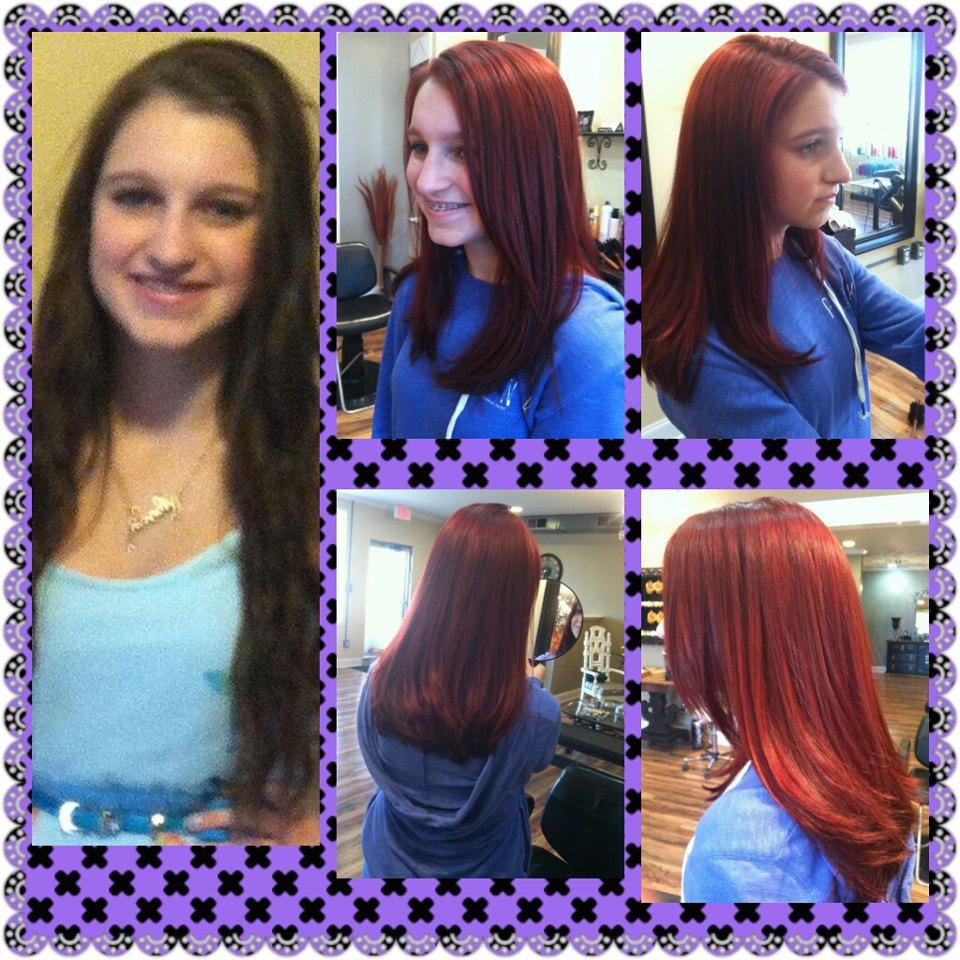 hair & makeup by Danielle