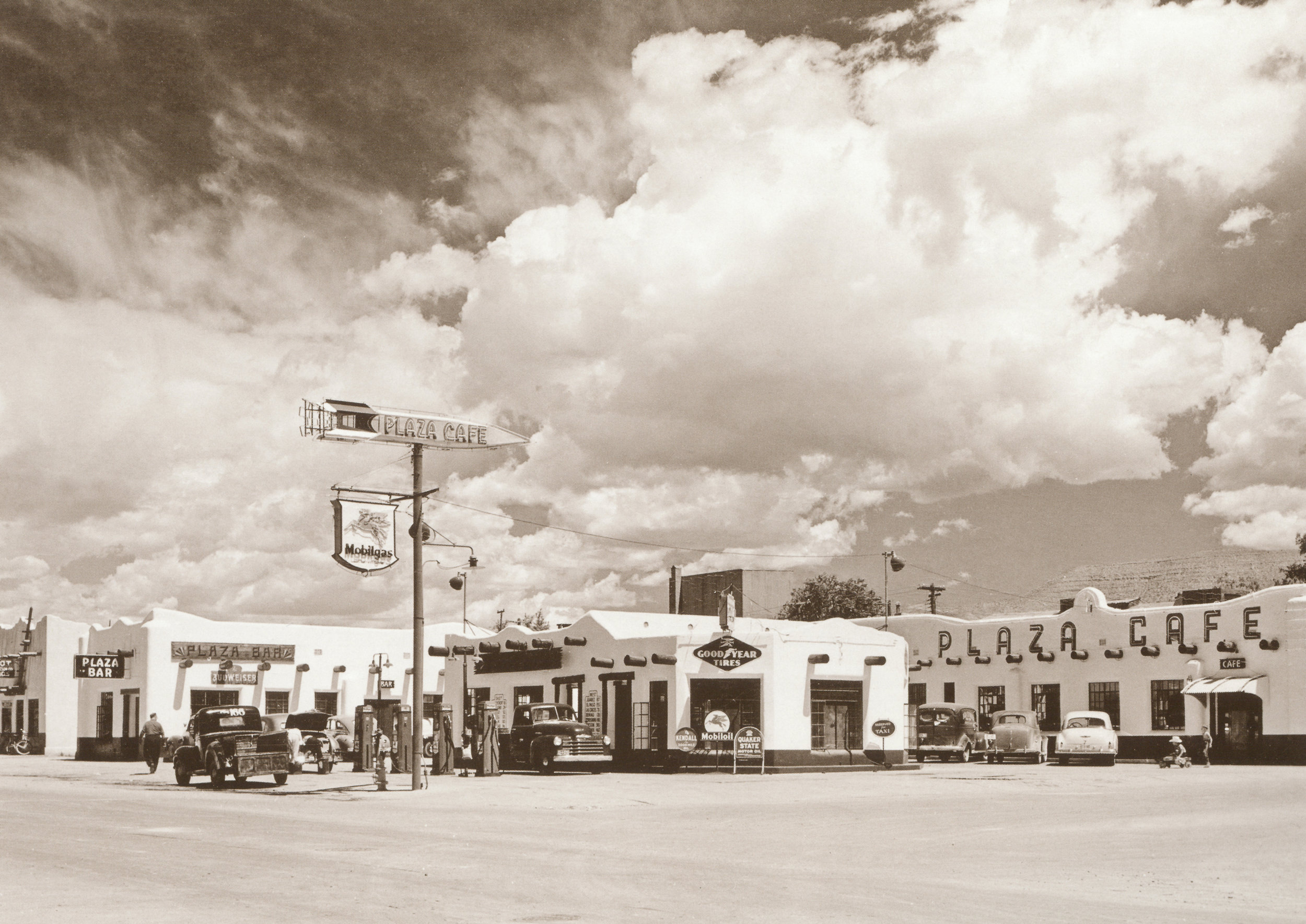 Alamogordo, New Mexico, along U.S. 54