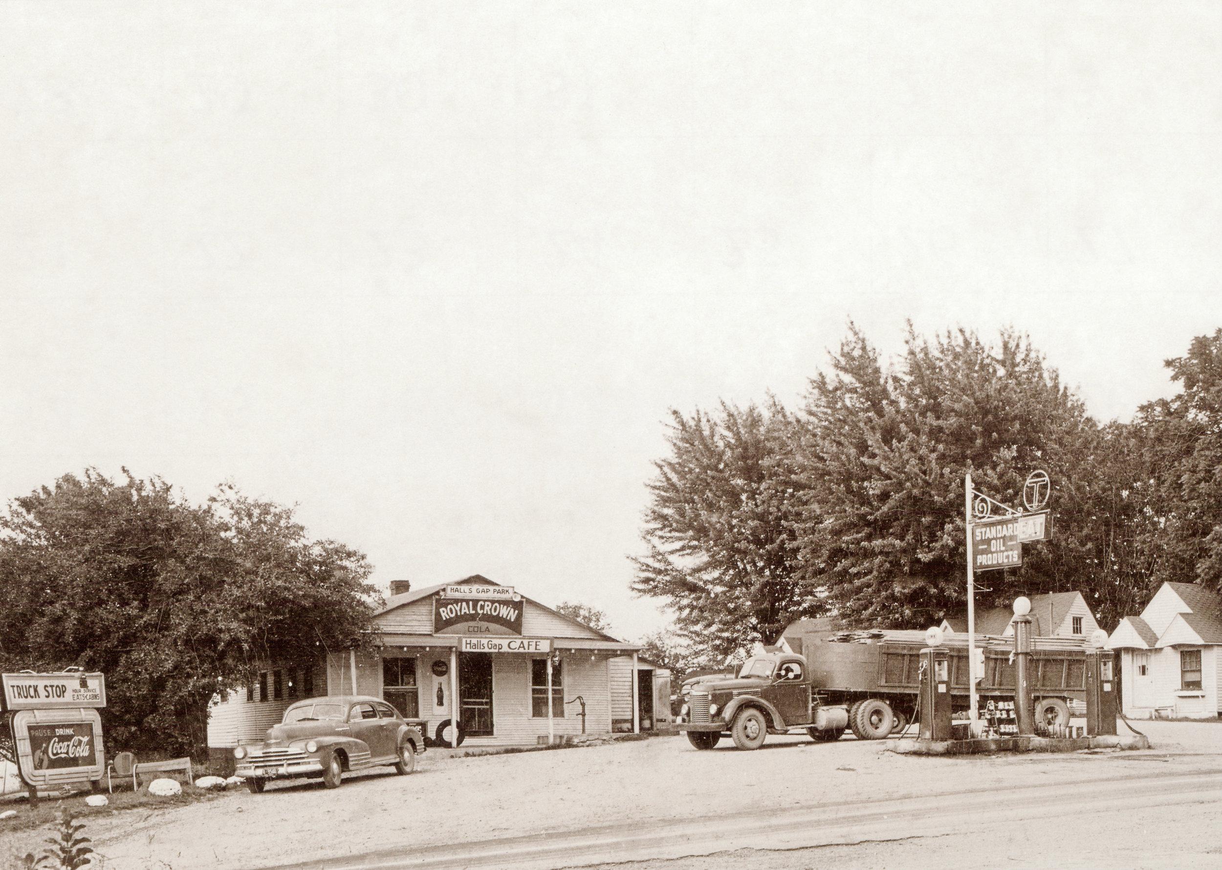 Hall's Gap, Kentucky, along U.S. 27