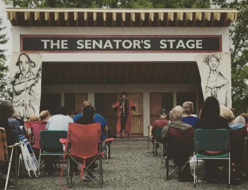 Outdoor Senator's Stage Creamery Square