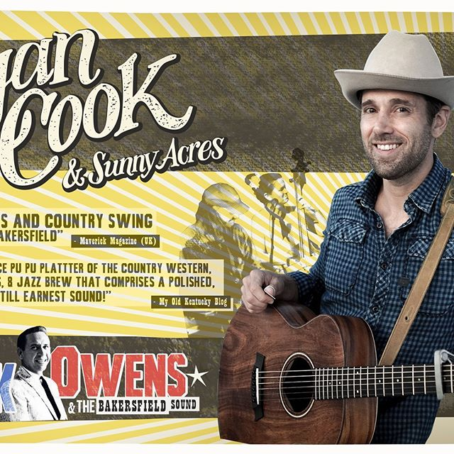 Hey, Country music lovers! Ryan Cook is coming to the Grace Jollymore Joyce Arts Centre, with Sunny Acres. A tribute to Buck Owens. Tickets $25 at the door or at Fulton's Pharmacy or www.gracejollymore.com  Sunday Aug. 11, 7:30pm #ryancook #tatamagouche #buckowens #sunnyacres #creamerysquare