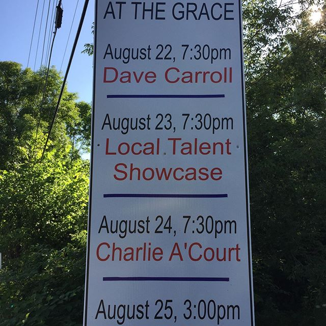 Here comes Tatafest 2019. At the Grace. Details gracejollymore.com Gotta be there. #davecarroll #charlieacourt #ivanhicks #creamerysquare #tatafest