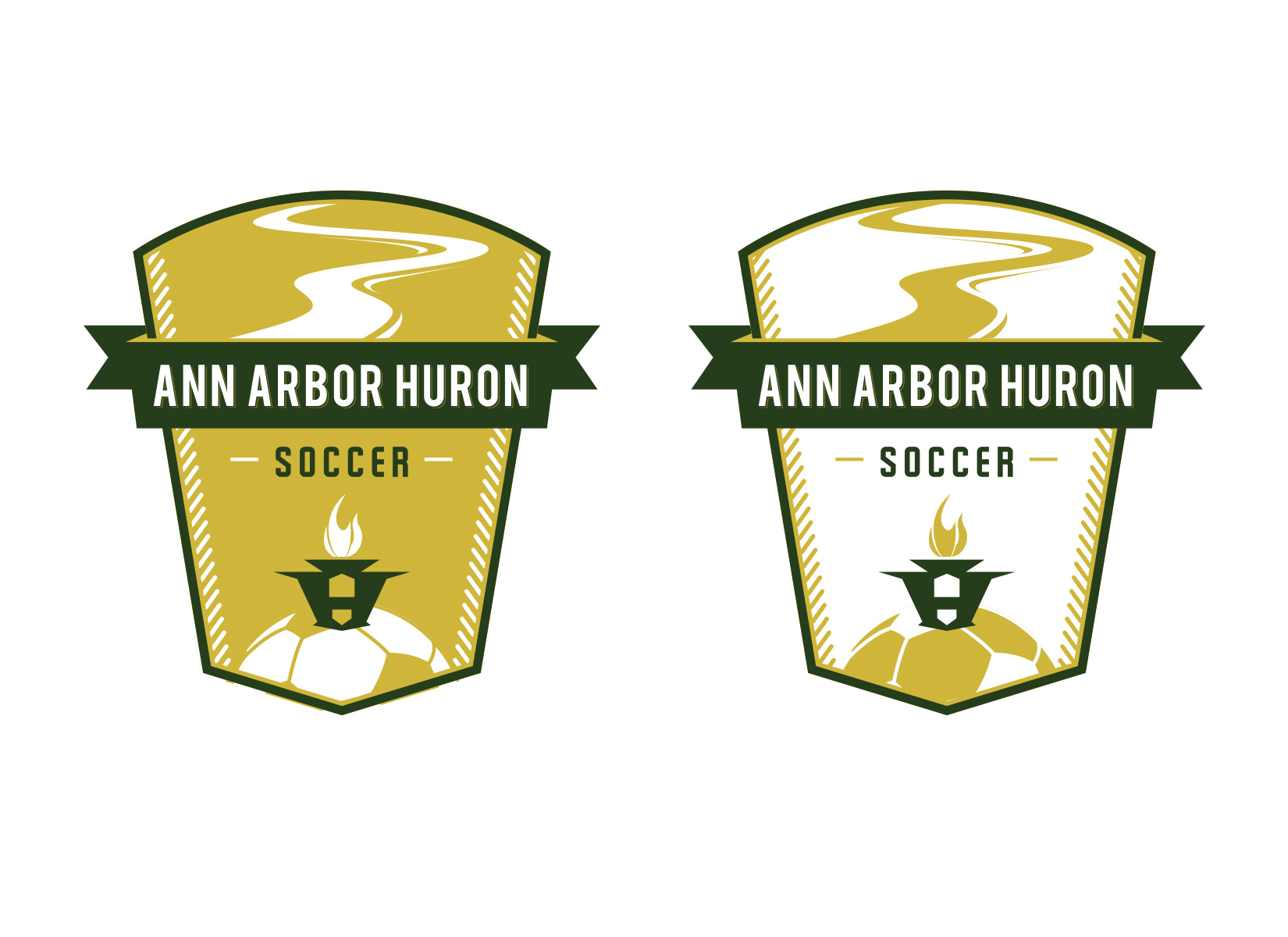 high school soccer team logo design by jordan fretz