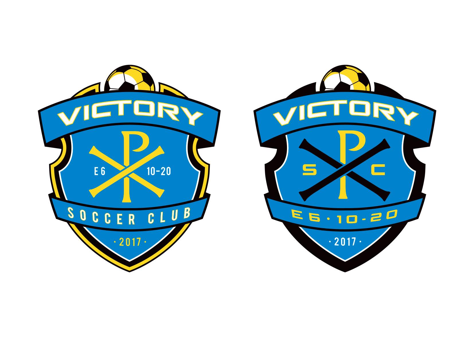 victory soccer logo