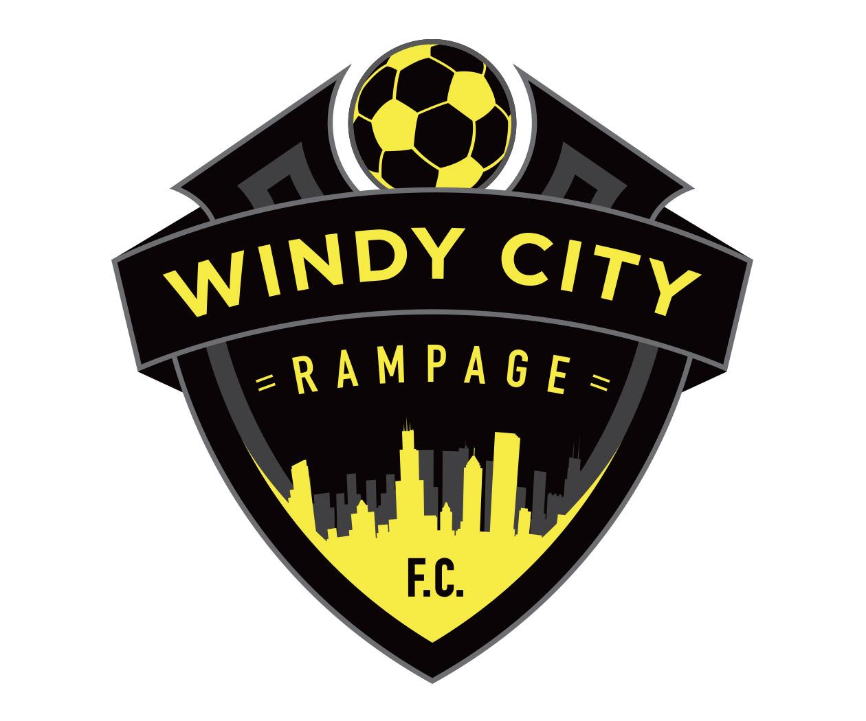 chicago fc soccer logo design