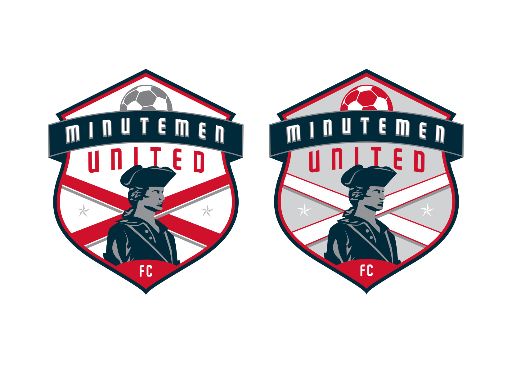 minutemen united sports logo