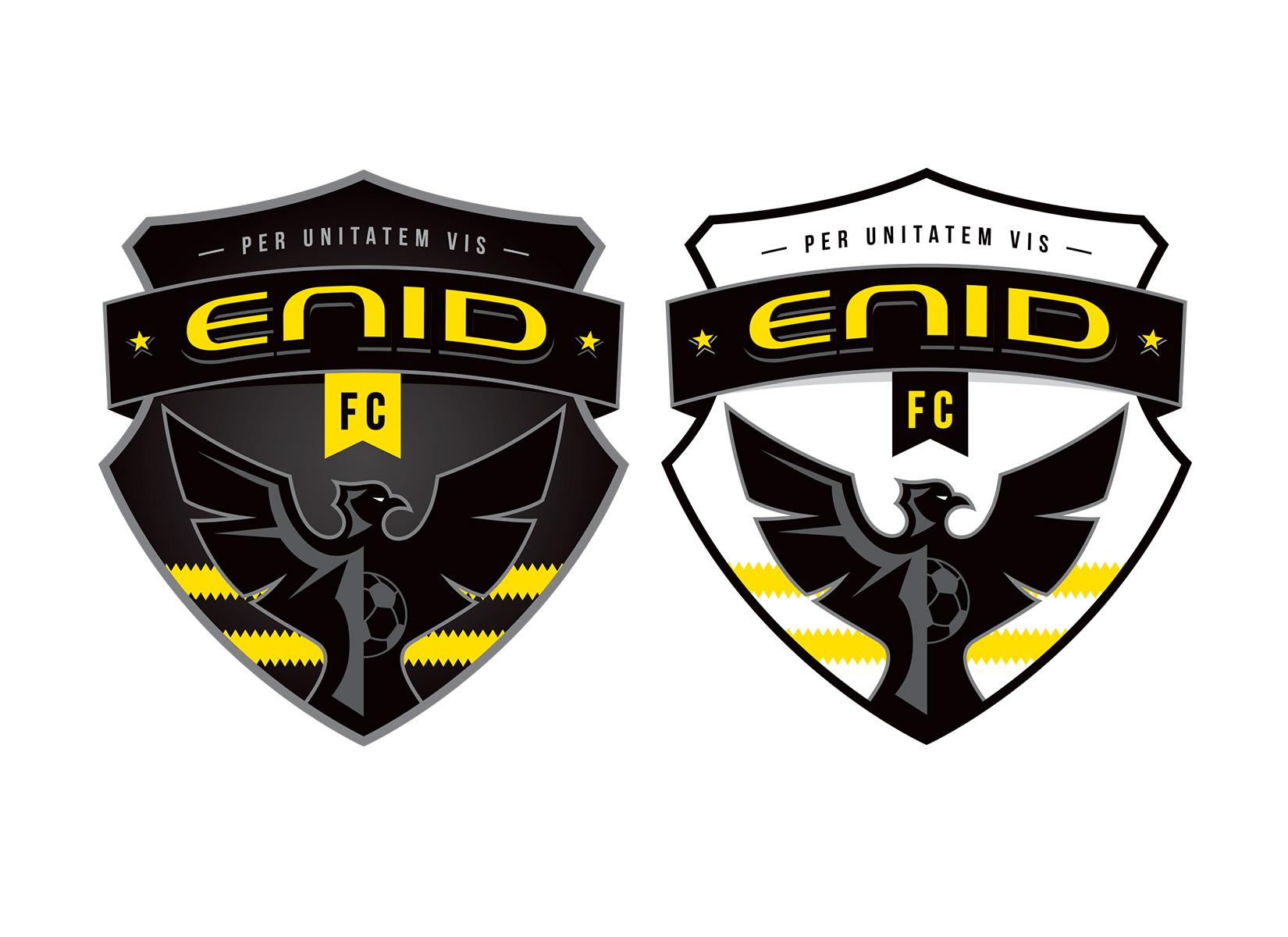 enid fc sports logo