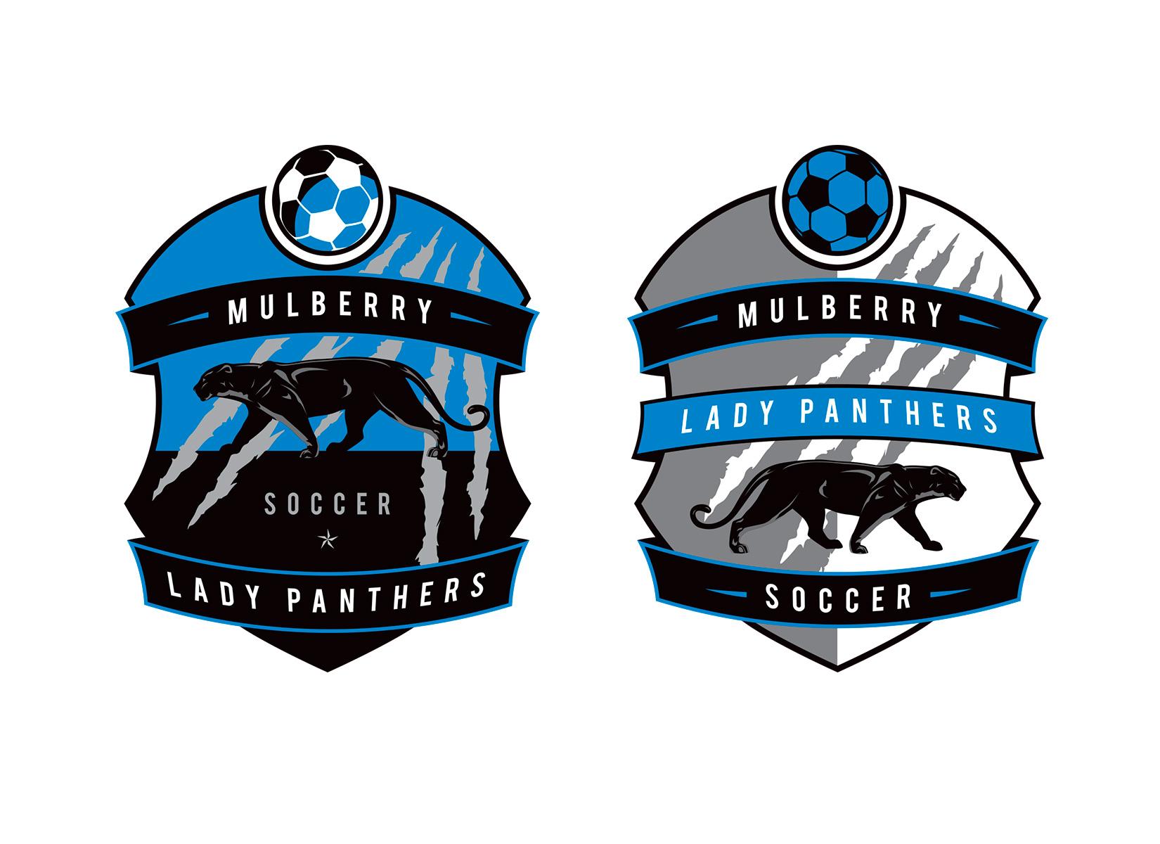 mulberry soccer logo design