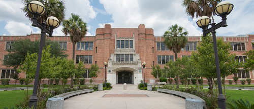 Heights High School, in Houston. Image taken from the school's web site.