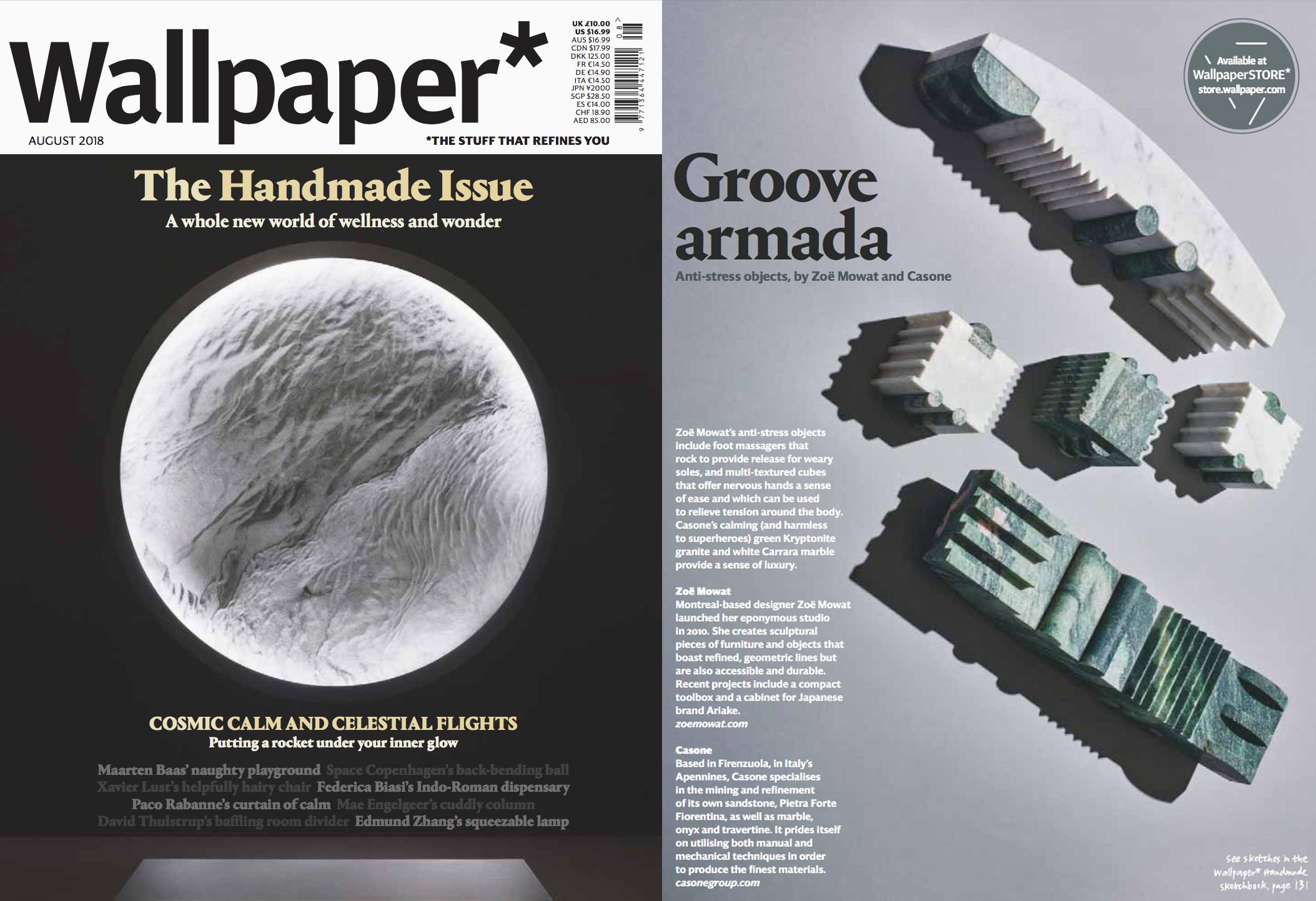 WALLPAPER HANDMADE ISSUE, AUGUST 2018