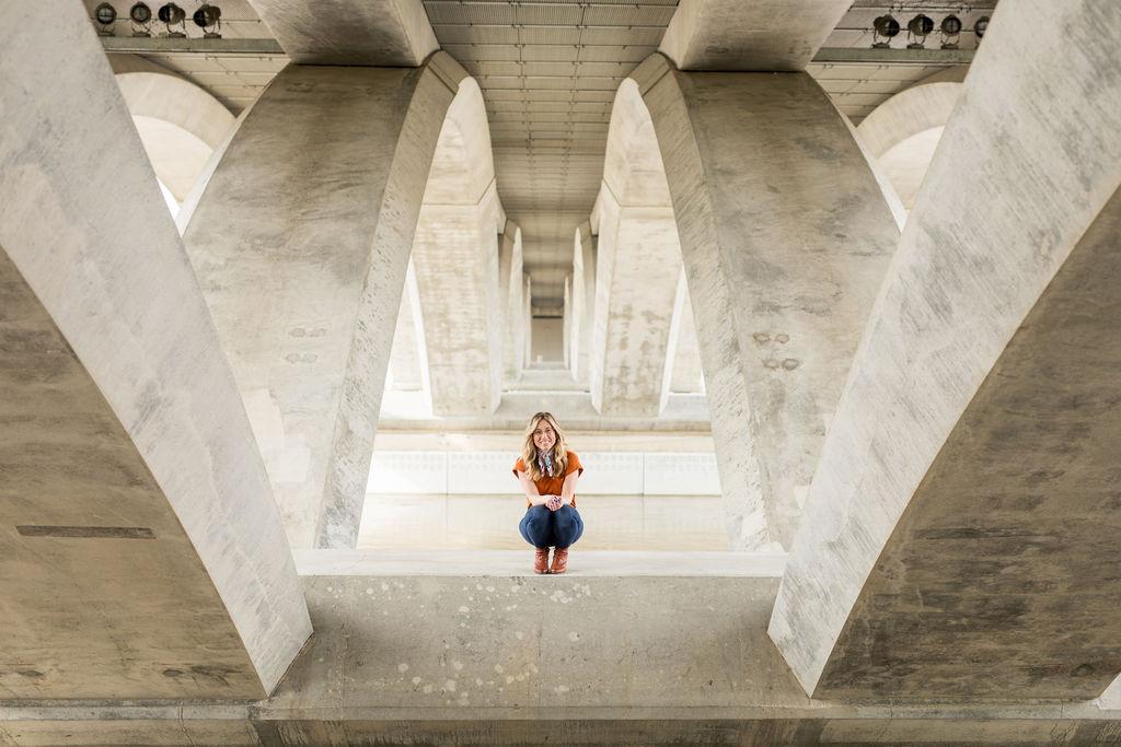 Scioto Mile Bridge Columbus, ohio