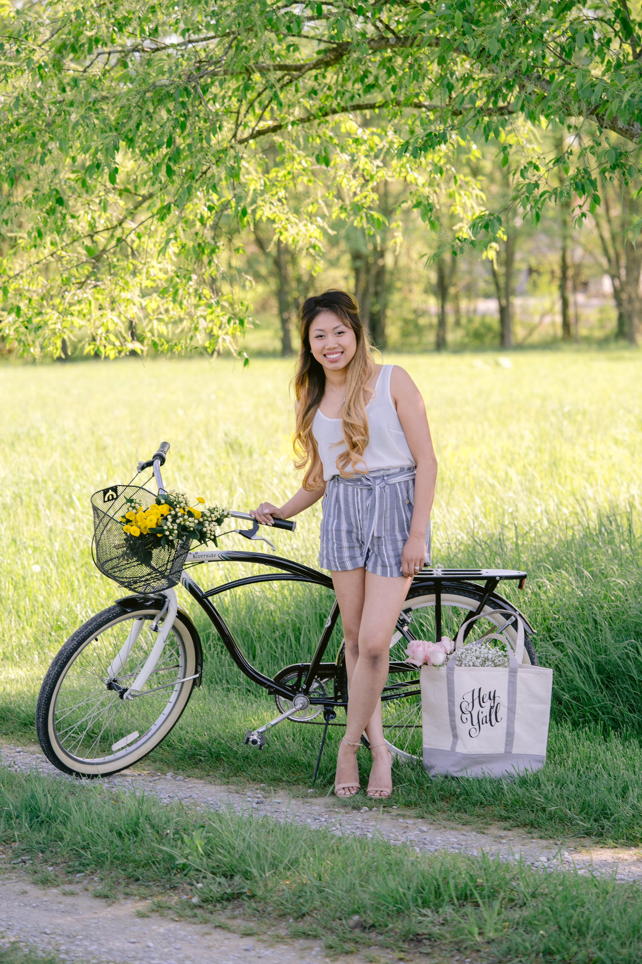 Countryside Floral Bicycle Headshots