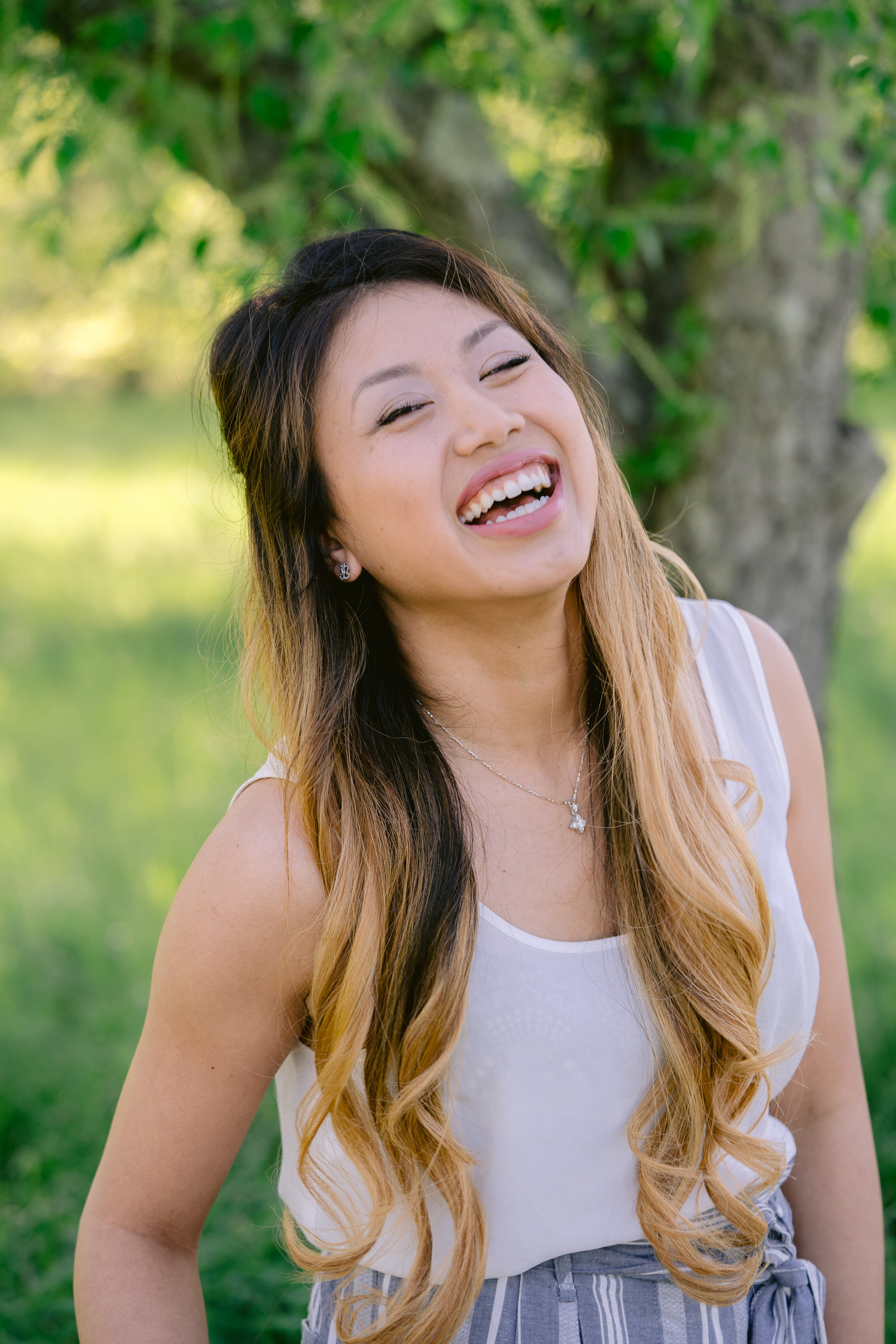 Cute Laughing Headshot