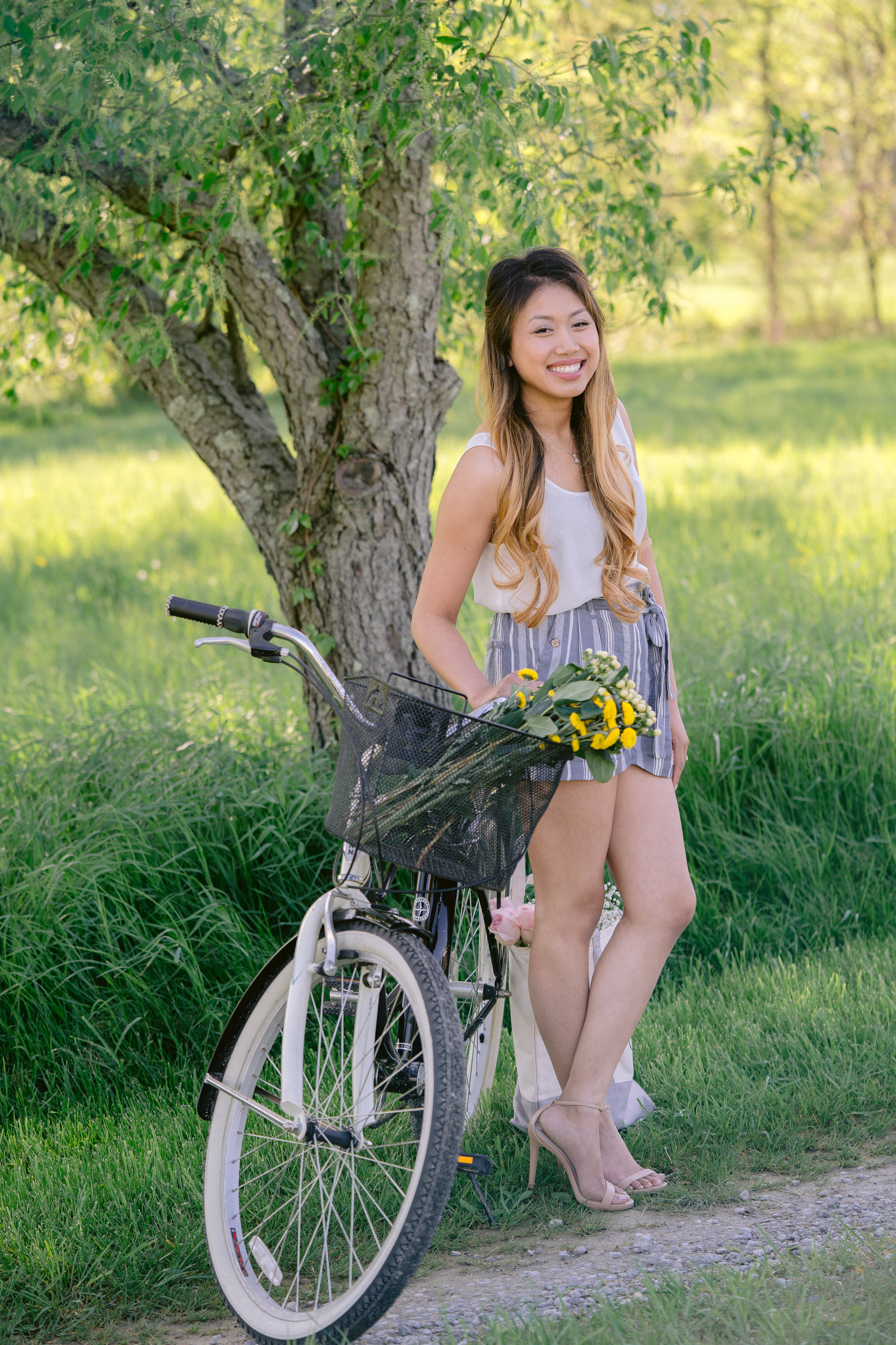 Bicycle Countryside Headshot