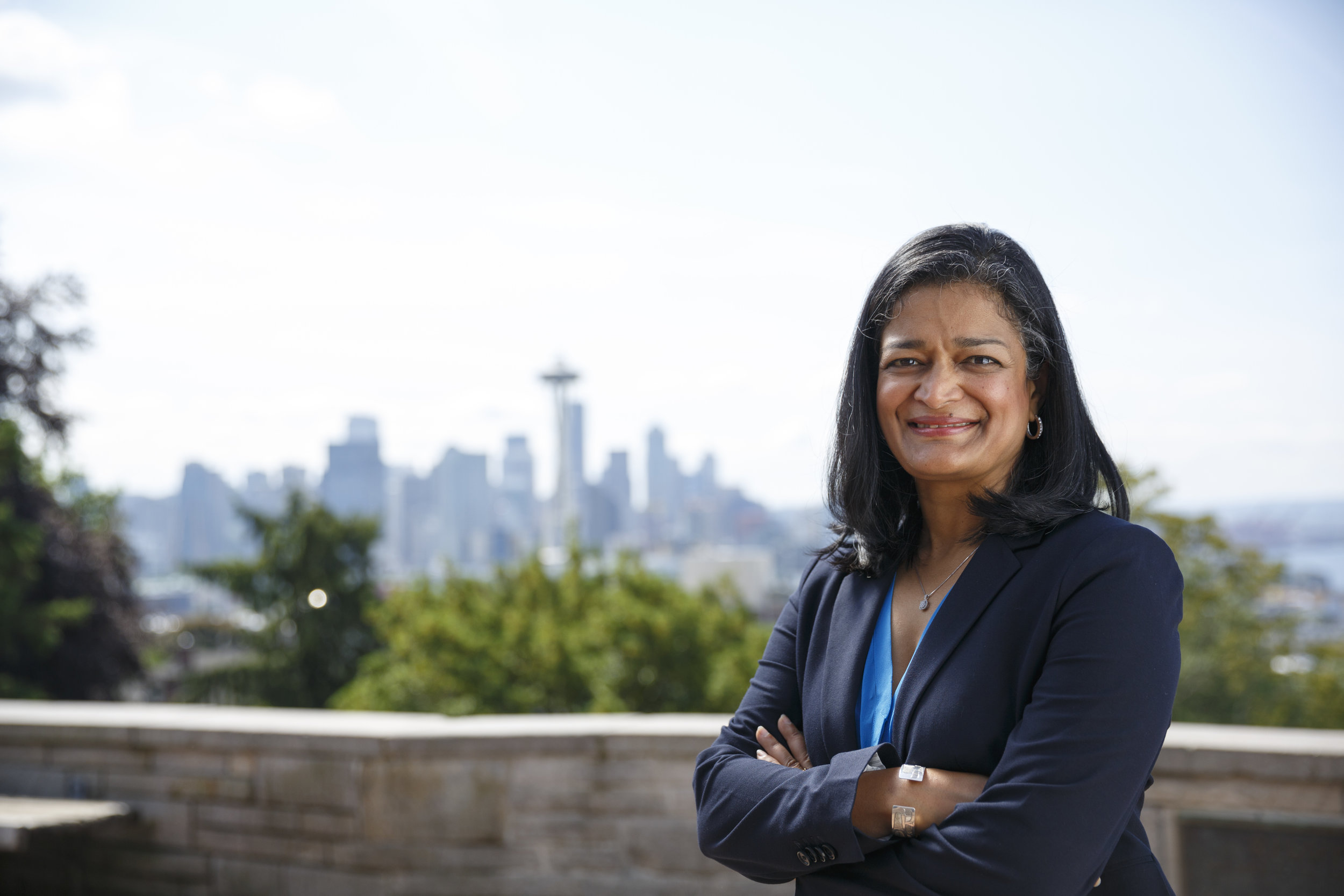 Pramila Jayapal heads to Congress