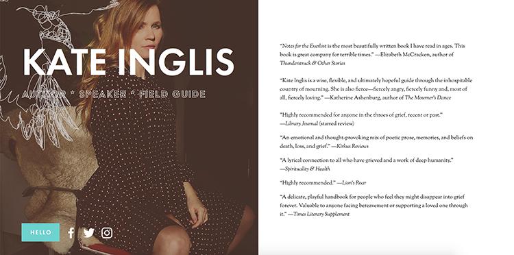 Kate Inglis: author