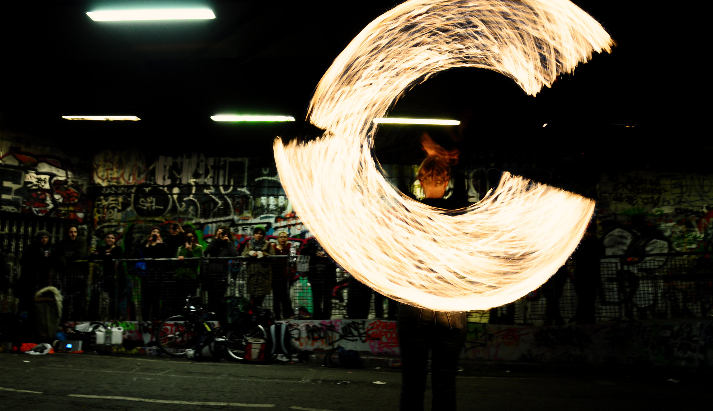 Fire Ropes Show