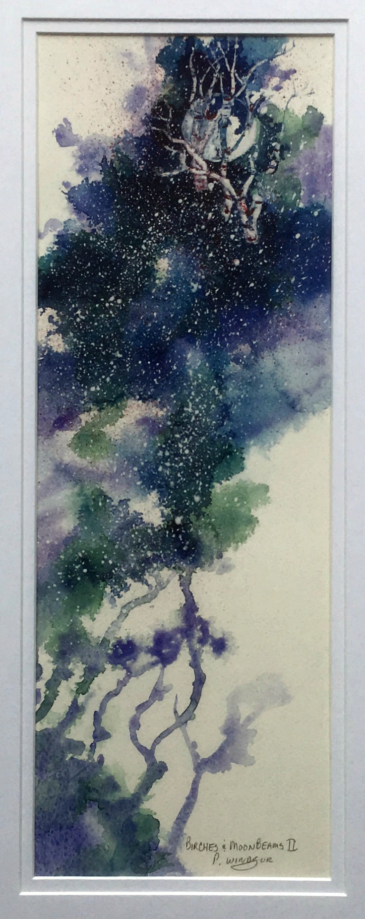 Birches & Moonbeams II
