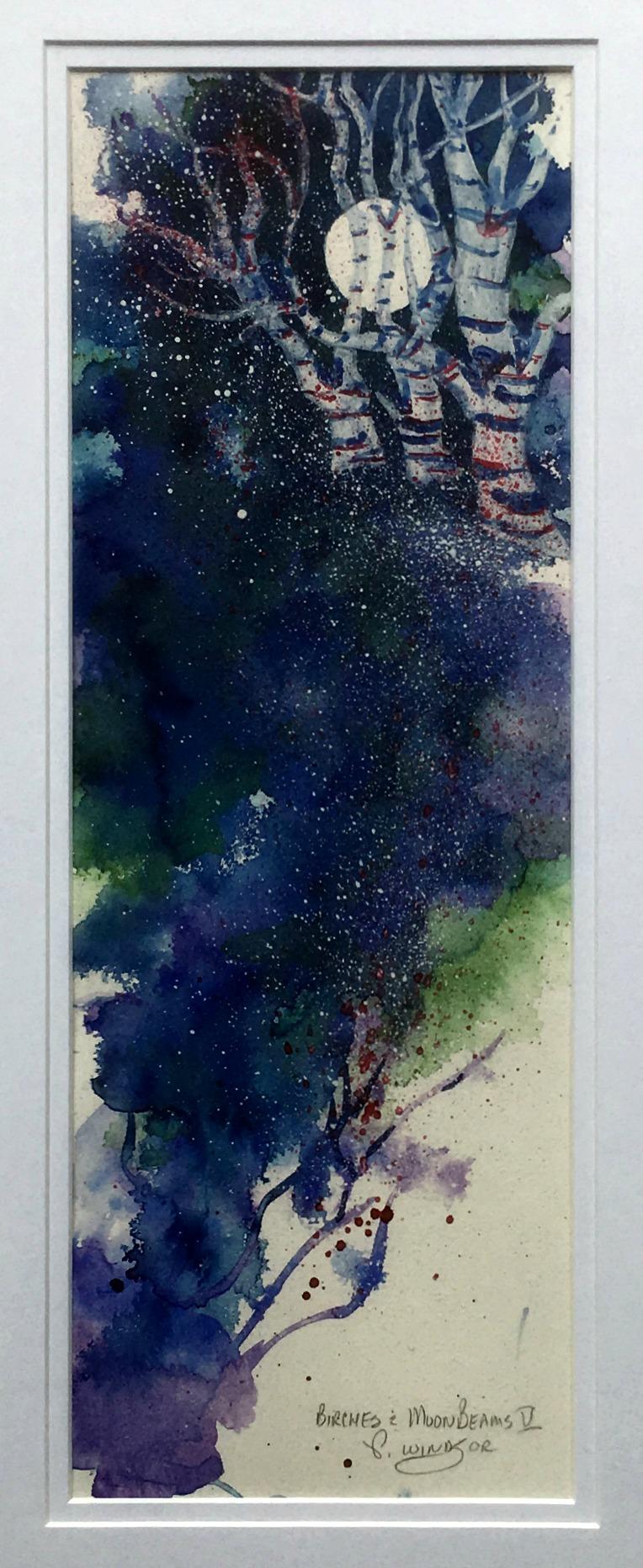 Birches & Moonbeams V