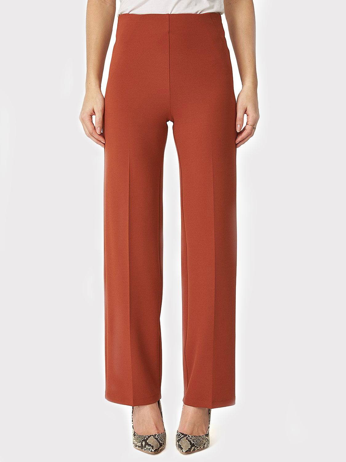High-Waisted Wide Leg Pants