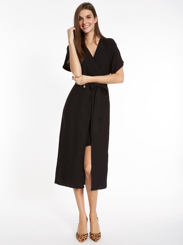 Midi Woven Dress