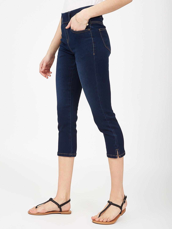 Pantalon Capri en jean