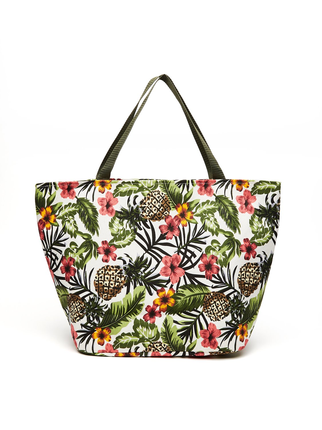 Tropical Canvas Tote