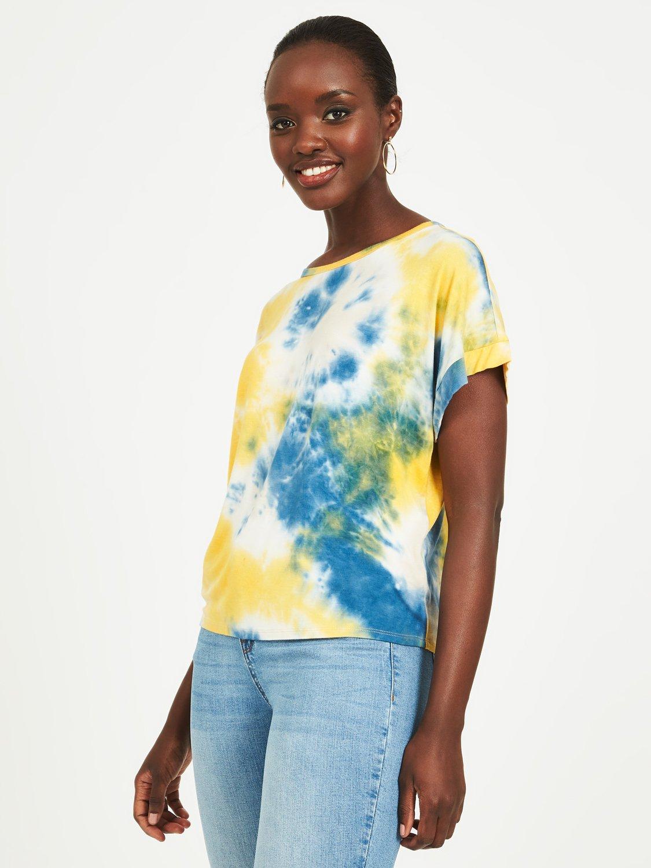 Oversized Tie-Dye T-Shirt