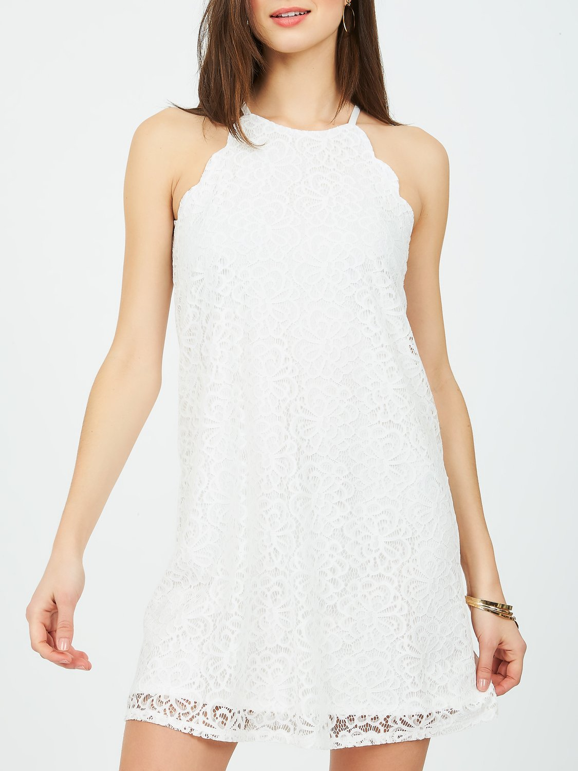 Copy of Scalloped Lace Dress