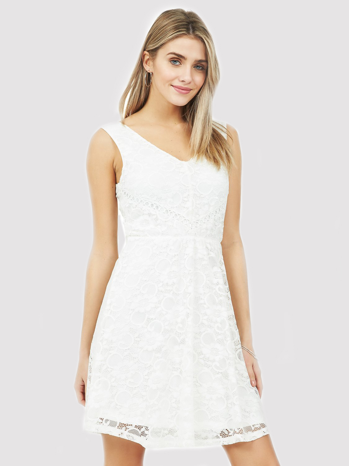 Copy of Fit & Flare Lace Dress