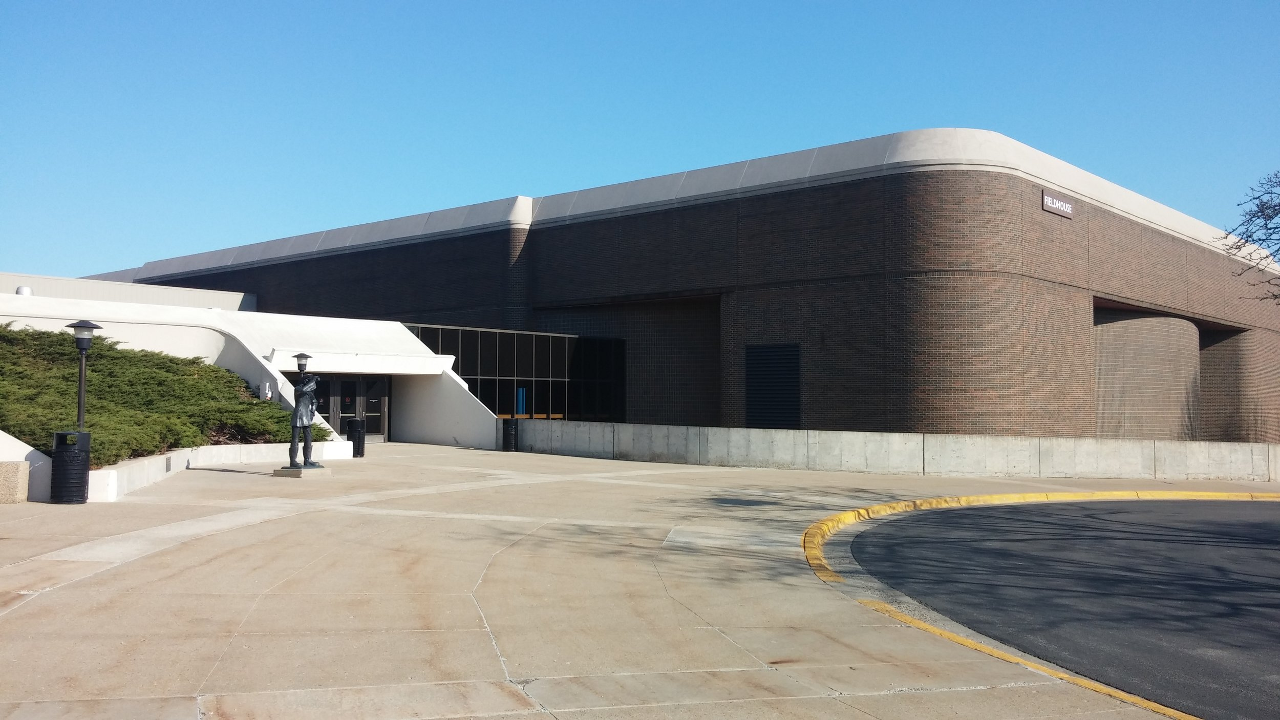 Grand Valley State University Fieldhouse Air Conditioning Unit