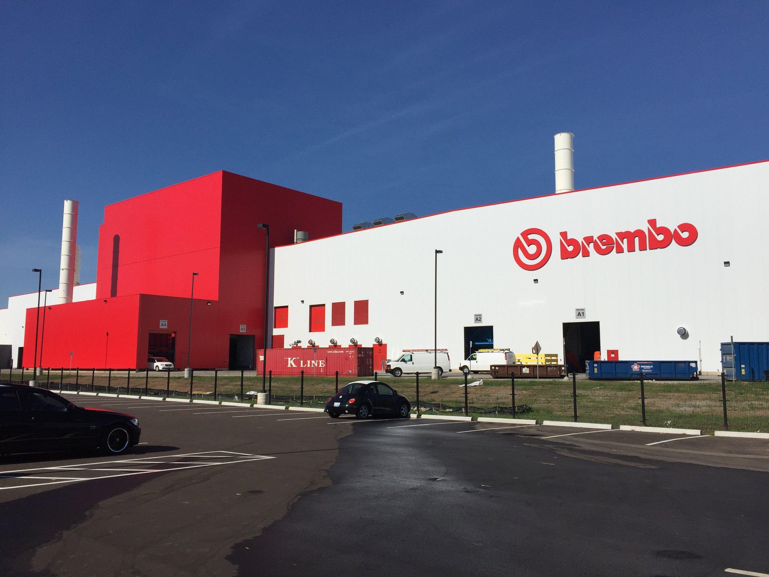 Brembo Facility Addition