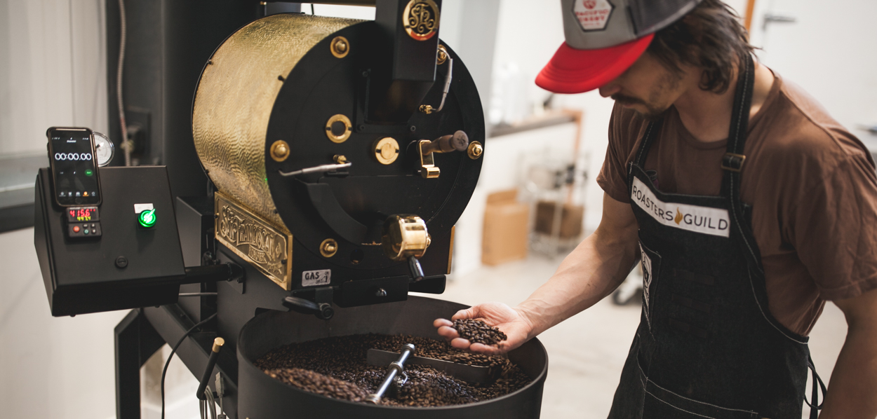 Shop - We roast the freshest green coffee beans available in small batches to balance coffee's natural flavors with the roast preferences of coffee lovers.