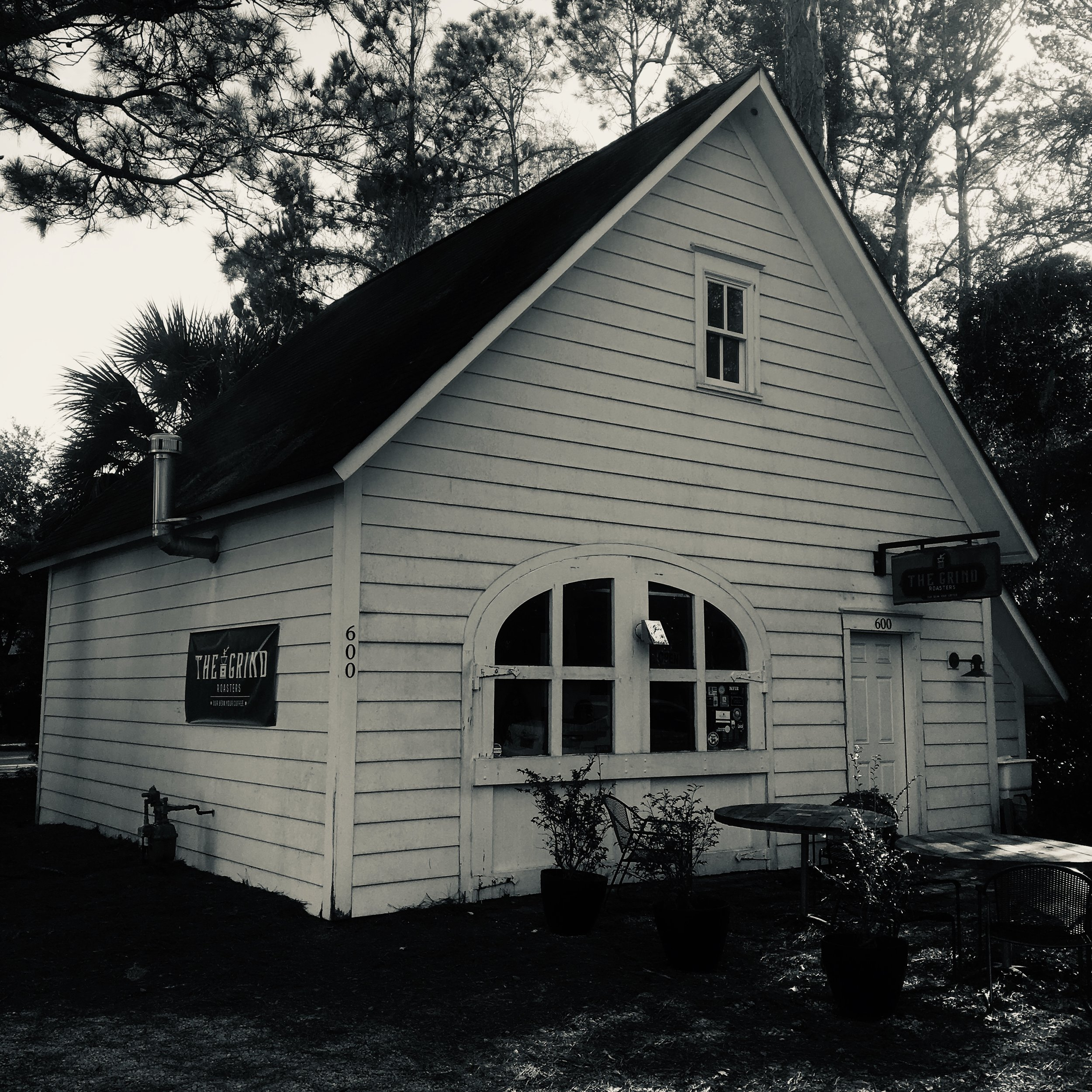 Humble beginnings. our first shop, a historic carriage house
