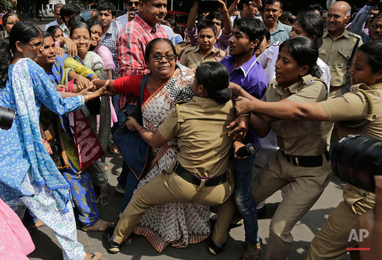 India's Rape Protest
