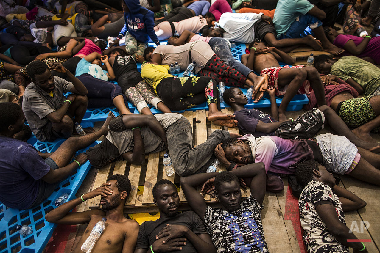 Europe Africa Migrants