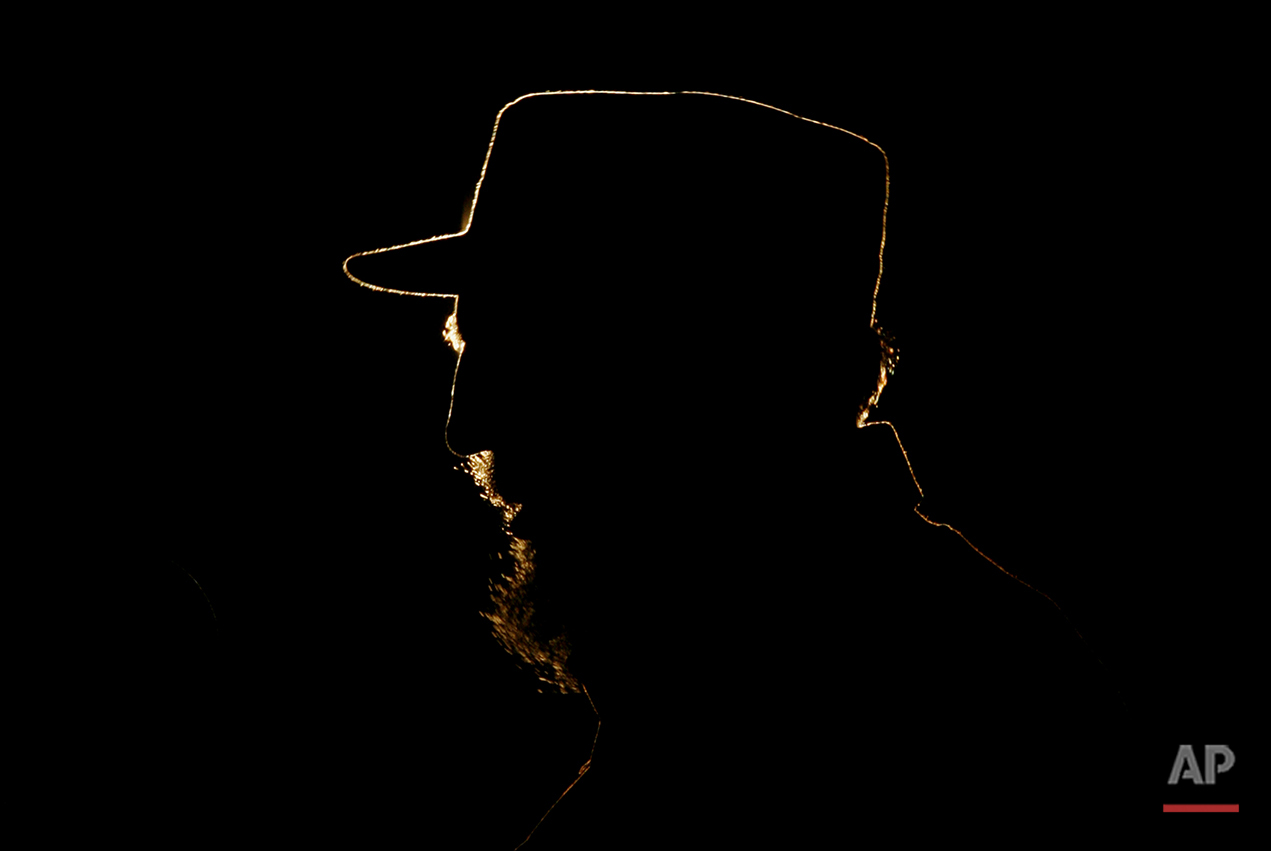 In this Feb 3, 2006 photo, Cuban President Fidel Castro speaks during a ceremony granting Venezuela's President Hugo Chavez, not seen, UNESCO's 2005 Jose Marti International Prize at the Revolution Plaza in Havana, Cuba. As Castro nears his 90th birthday on Aug. 13, 2016, the Cuban government has taken a low-key approach to Castro's birthday. There are no massive rallies or parades planned, no publicly announced visits from global dignitaries. (AP Photo/Javier Galeano)